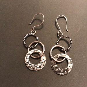 """SILPADA .925 Sterling """"Triple Threat"""" Earrings"""